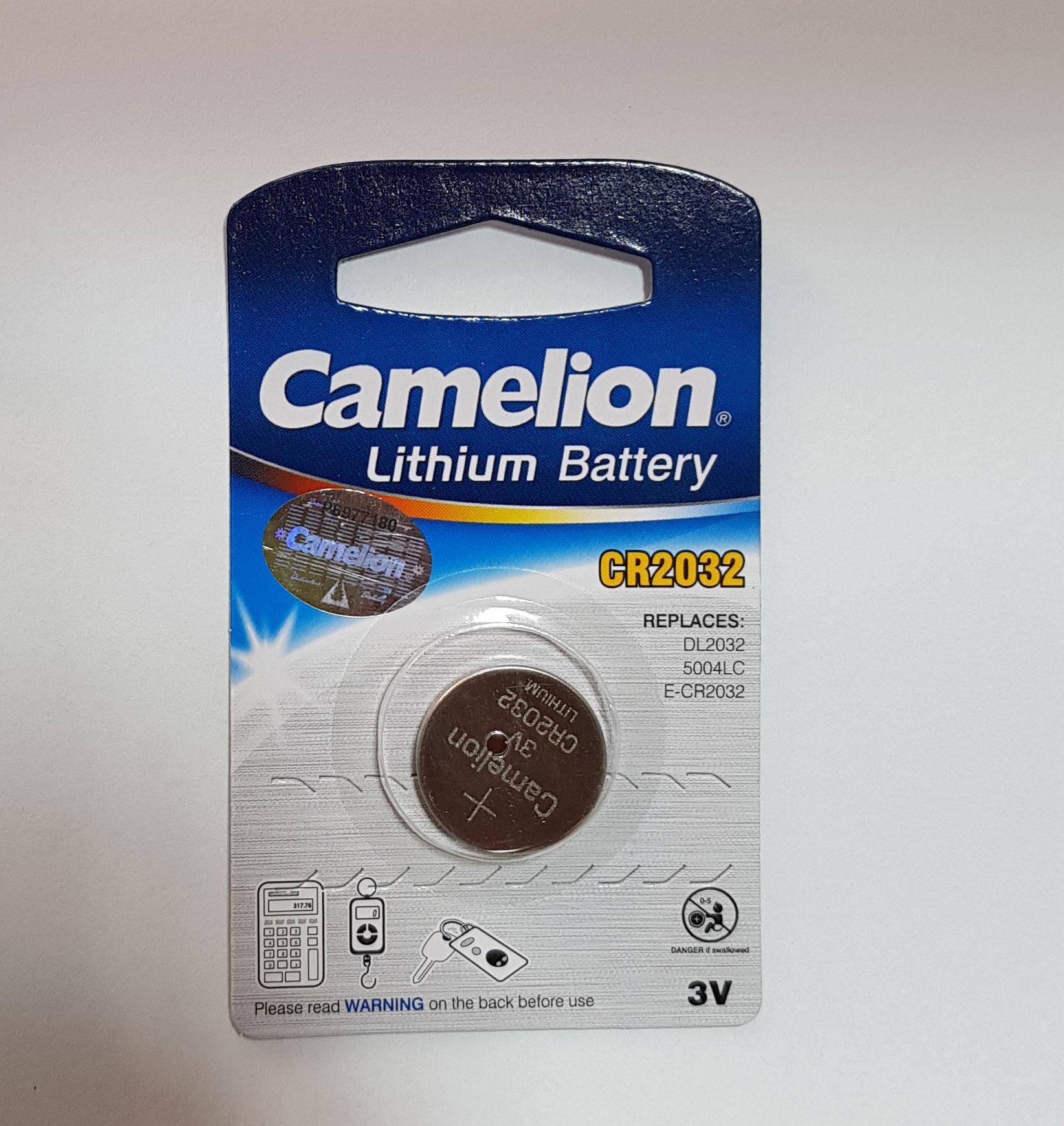 باتری سکه ای لیتیومی Camelion  سایز ۲۰۳۲