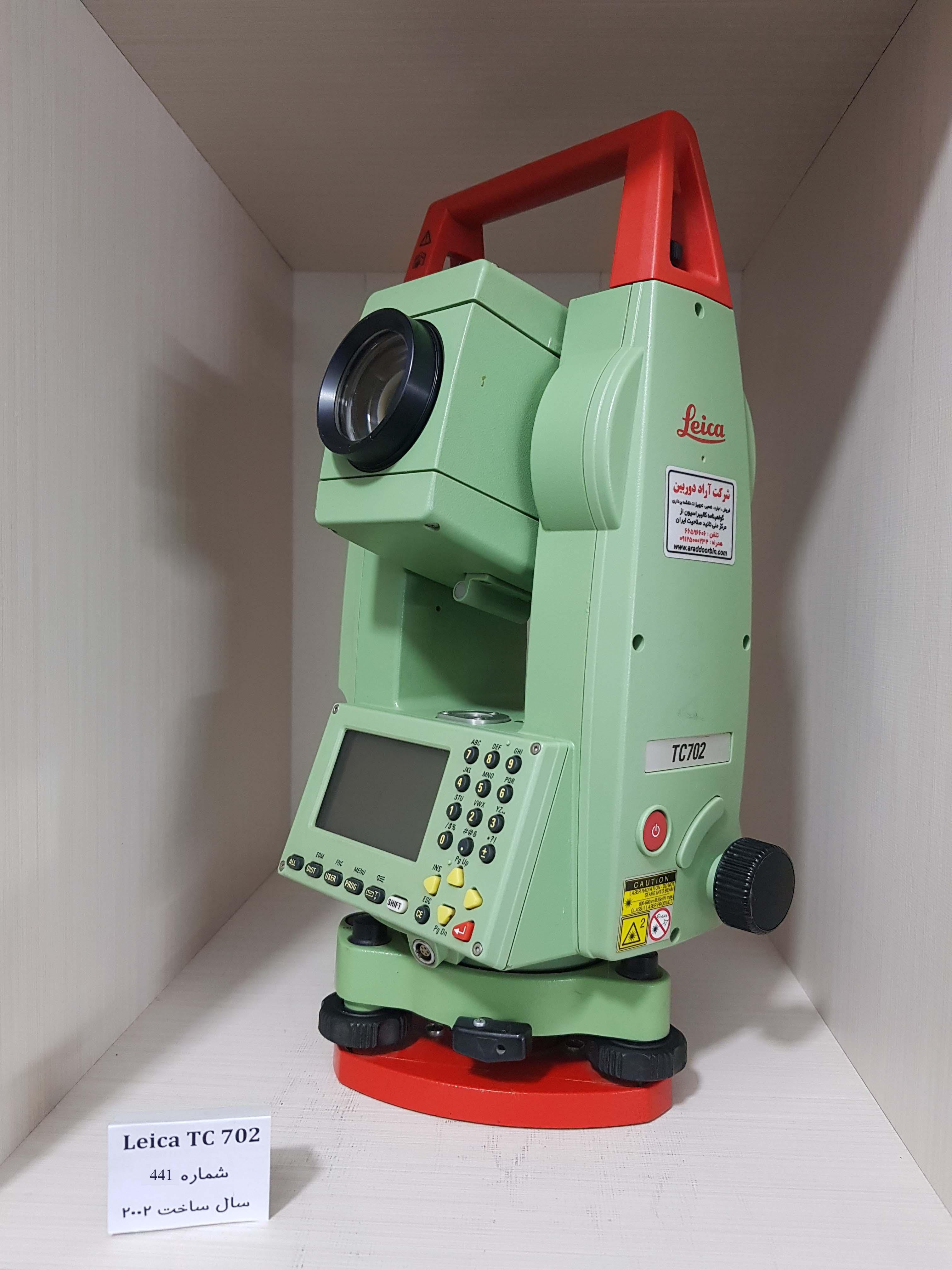 دوربین دست دوم توتال استیشن لایکا  Leica TC 702