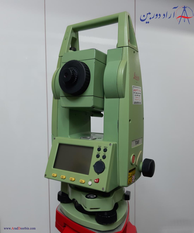دوربین نقشه برداری دست دوم توتال استیشن لایکا TC 407