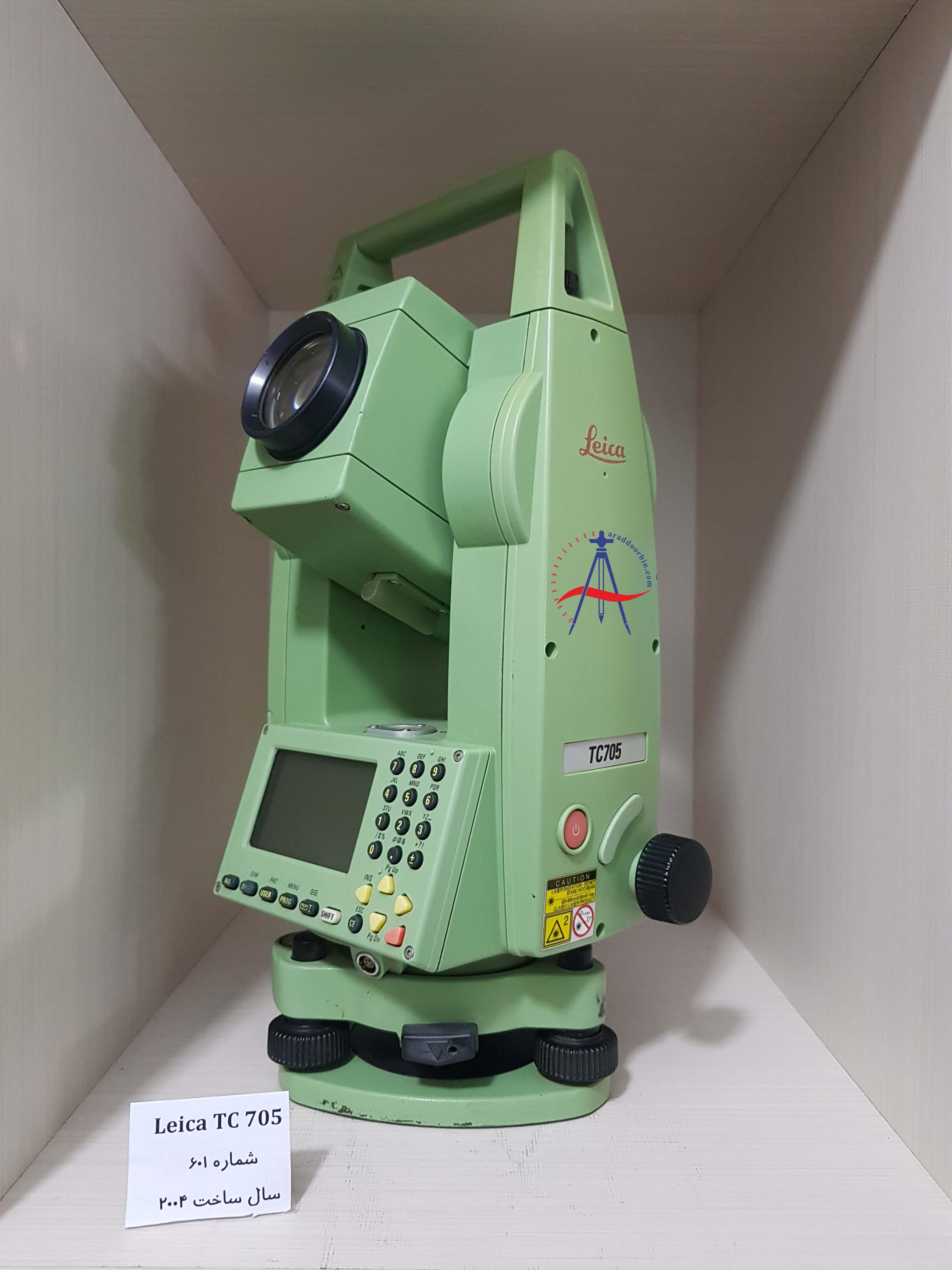 دوربین دست دوم توتال استیشن لایکا  Leica TC 705