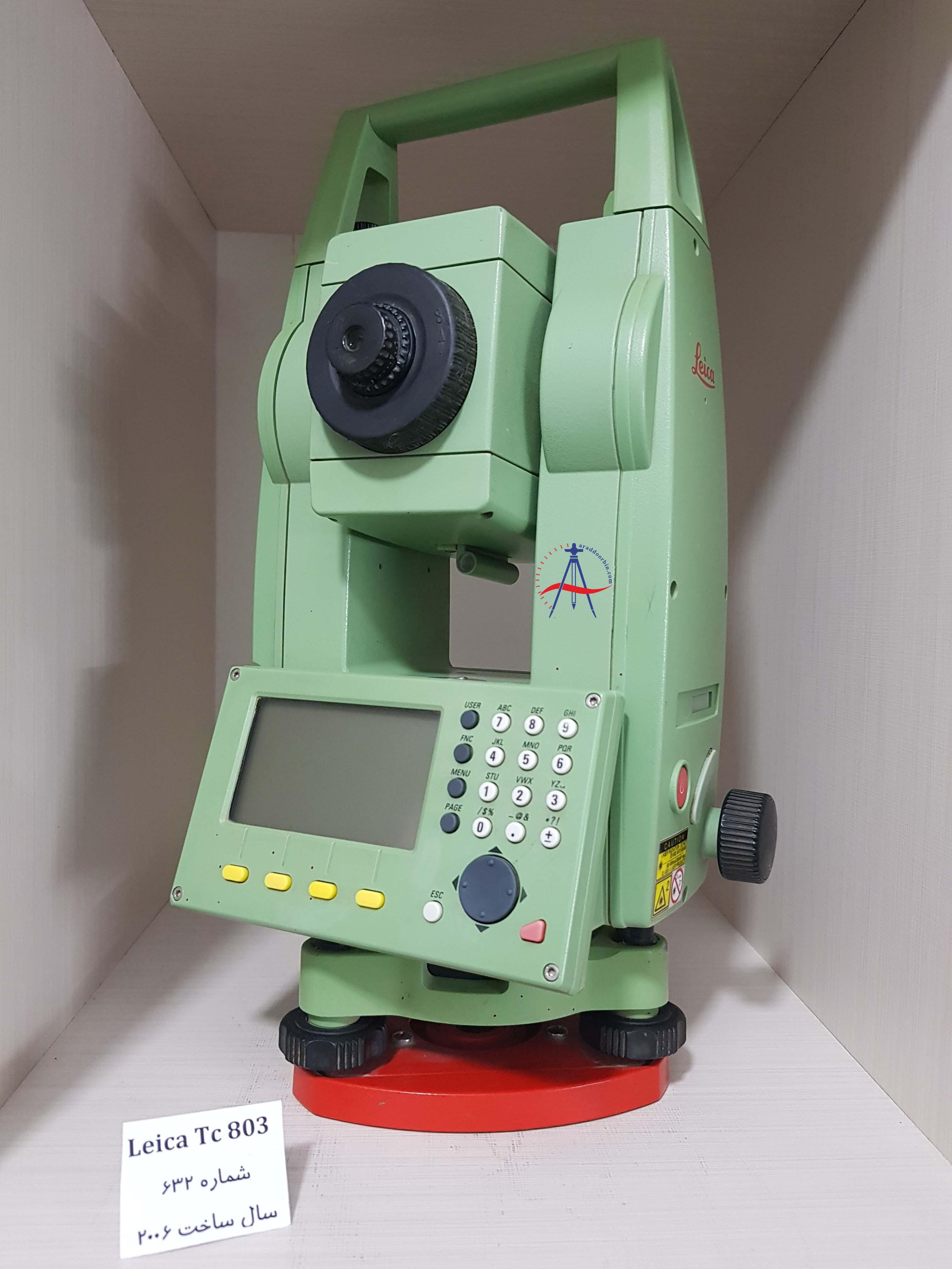 دوربین دست دوم توتال استیشن لایکا  Leica TC 803