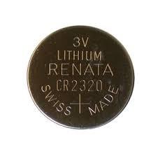 باتری سکه ای لیتیومی Renata سایز ۲۳۲۰