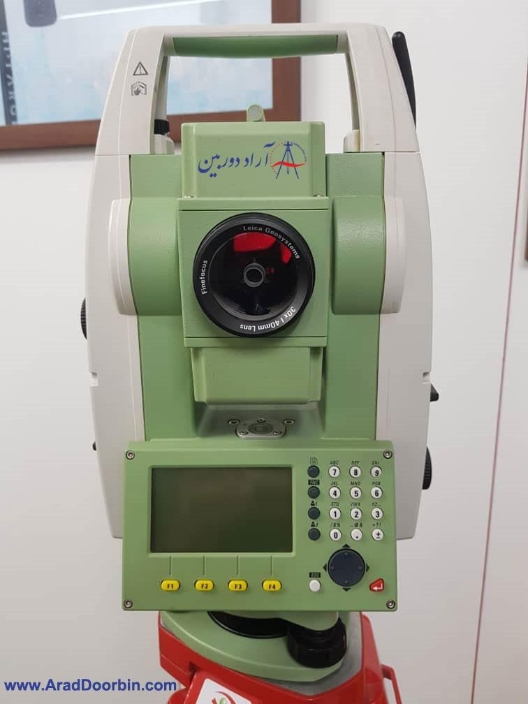 دوربین نقشه برداری دست دوم توتال استیشن لایکا  TS06 PLUS R500